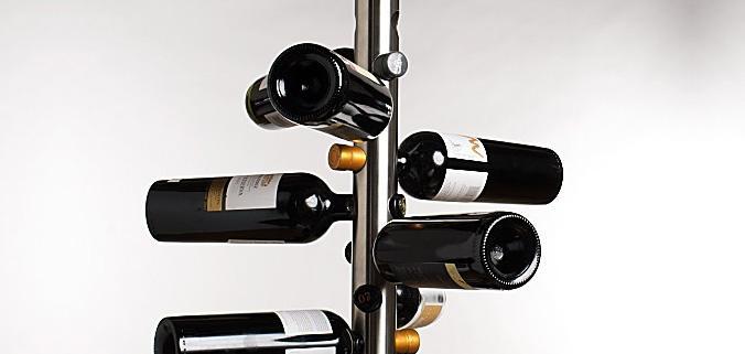 support bouteille vin. Black Bedroom Furniture Sets. Home Design Ideas